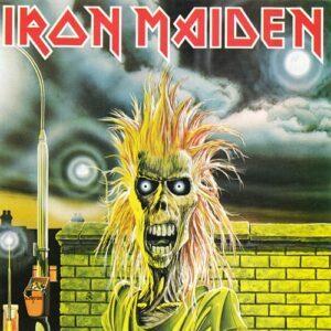 Iron Maiden debut album cover
