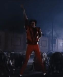 Michael Jackson - Thriller dance 2