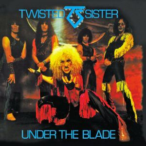 Twisted Sister - Under The Blade album cover