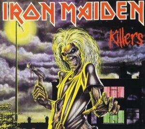 Iron Maiden Killers album cover